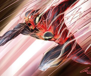 comic, DC, and the flash image