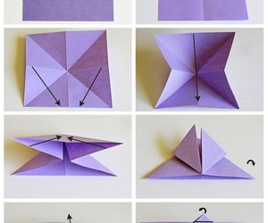 butterfly, diy, and origami image