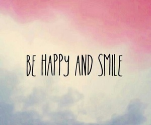happy, smile, and love image