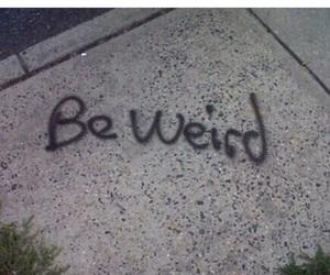 weird, grunge, and be weird image