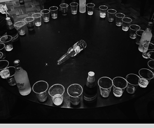 party, alcohol, and black image