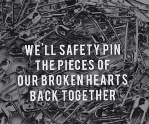 safety pin, 5sos, and Lyrics image