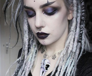 alternative, dreads, and witch image
