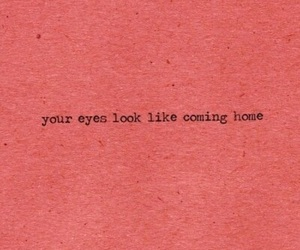 quotes, eyes, and home image