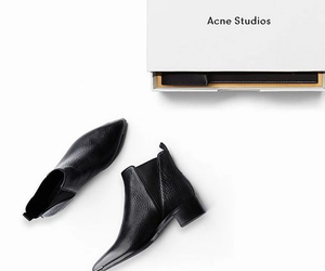 fashion, acne, and shoes image