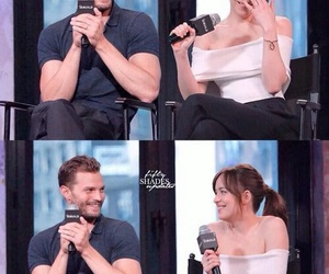 damie, Jamie Dornan, and dakota johnson image