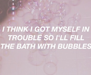 bubbles, soap, and pink image