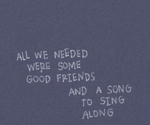 quotes, friends, and song image