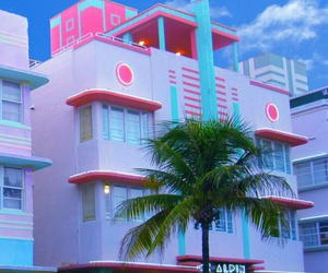 pink, blue, and aesthetic image