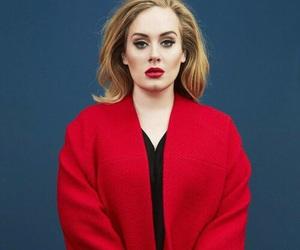 Adele, black and white, and celebrity image