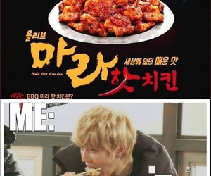 Chicken, kpop funny, and not my style image