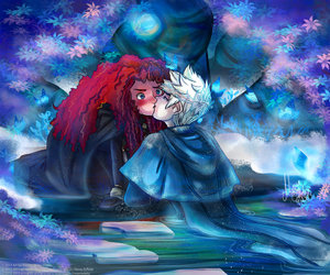 jack frost, merida dunbroch, and jarida image