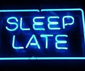 sleep, blue, and Late image