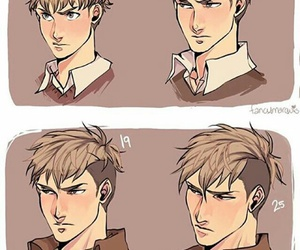 jean and attack on titan image