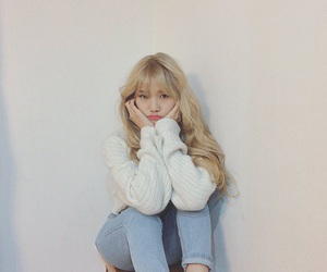mimi, oh my girl, and ulzzang image