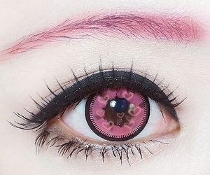 contacts, hearts, and pastel image