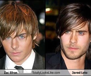 jared leto, zac efron, and 30stm image