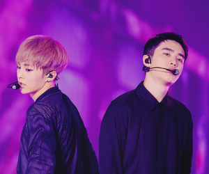 exo, xiumin, and d.o image