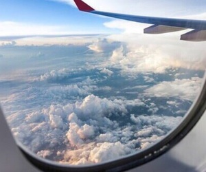 travel, sky, and clouds image