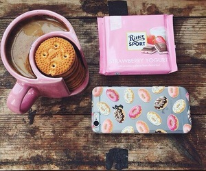 chocolate, coffee, and Cookies image