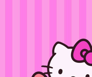 bows, colors, and hello kitty image
