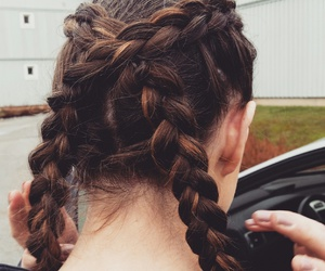 boxer, braid, and braids image