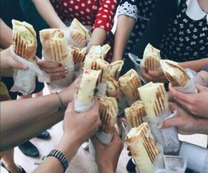 food, friends, and шаурма image