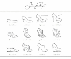 art, drawing, and heels image
