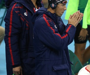 Michael Phelps, swimming, and olympic games image