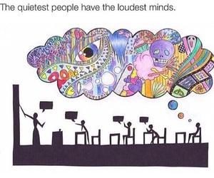 school, mind, and imagination image