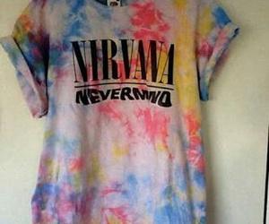 nirvana, Nevermind, and shirt image