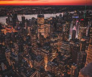 cities, new york, and photography image