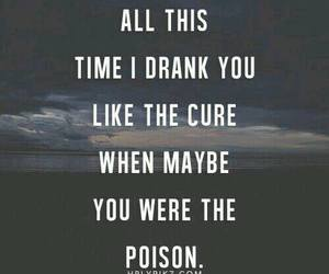 quote, poison, and cure image