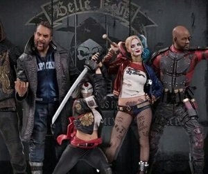 suicide squad, harley quinn, and deadshot image