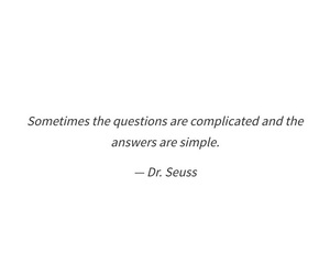 answers, complicated, and questions image