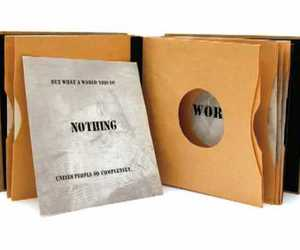 video, book art, and record sleeve book image