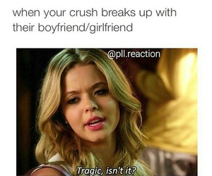 funny, pretty little liars, and crush image