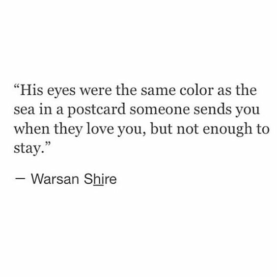 Warsan Shire shared by blythe on We Heart It