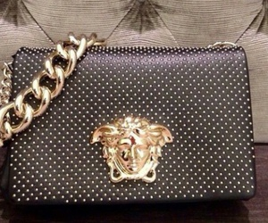 bags, luxe, and Versace image