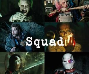 joker, harley quinn, and katana image