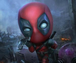 deadpool, Marvel, and wallpaper image