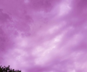cloud, pink, and purple image