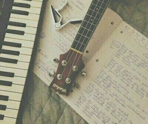 guitar, Lyrics, and music image