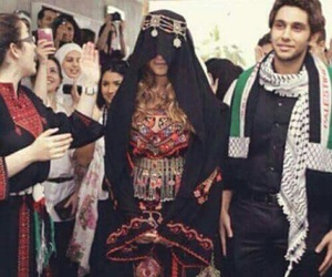 palestine and wedding image