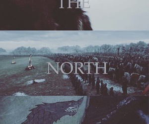 game of thrones, battle, and stark image