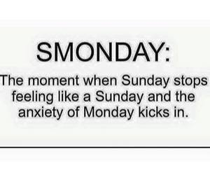 monday, Sunday, and smonday image