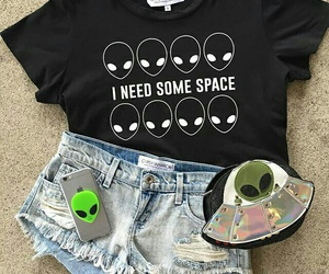 alien, fashion, and outfit image