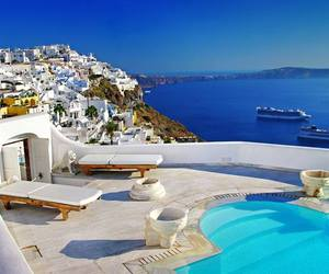 beautiful, greek, and places image