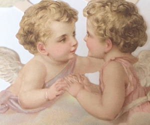 cherub, heart, and romantic image