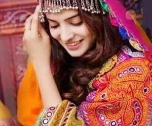 afghan, beautiful, and girl image